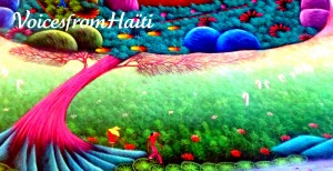 Dream Haiti: Acrylic on Canvas by Jean Claude M.
