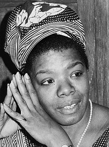maya angelou photo from web