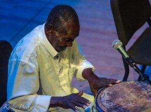 """Master Drummer, Catelus """"Ti Tonton"""" Laguerre. Photo credit: Kesler Pierre"""