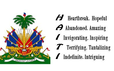 """Haiti"" text written by Judith Craig Morency"